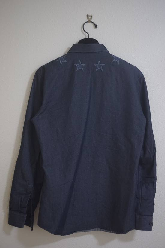 Givenchy Star Embroidered Denim Jacket Size US M / EU 48-50 / 2 - 1