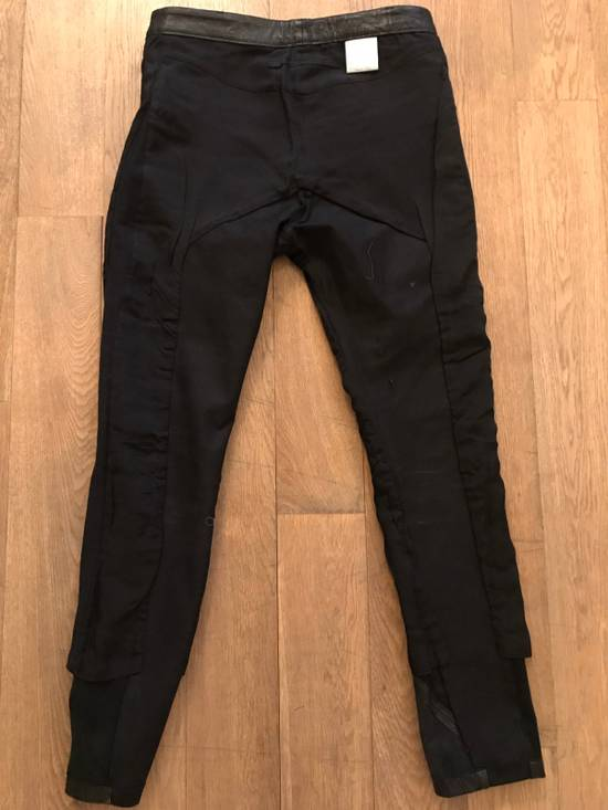 Julius Leather And Denim Pants Size US 32 / EU 48 - 5