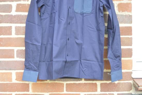 Givenchy Blue Contrast Pocket Shirt Size US S / EU 44-46 / 1 - 4