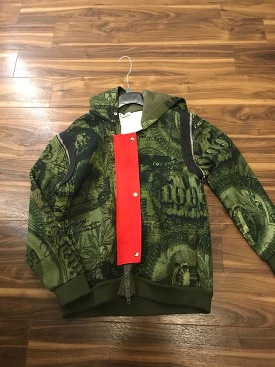 Givenchy Padded Removable Sleeve C Note Printed Jacket Size US M / EU 48-50 / 2