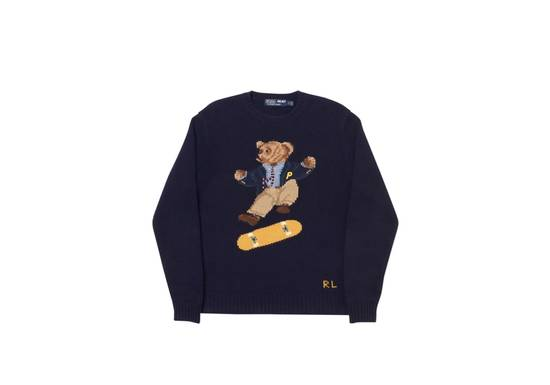 Ralph Lauren PALACE RALPH LAUREN SKATE POLO BEAR SWEATER AVIATOR NAVY Size US M / EU 48-50 / 2