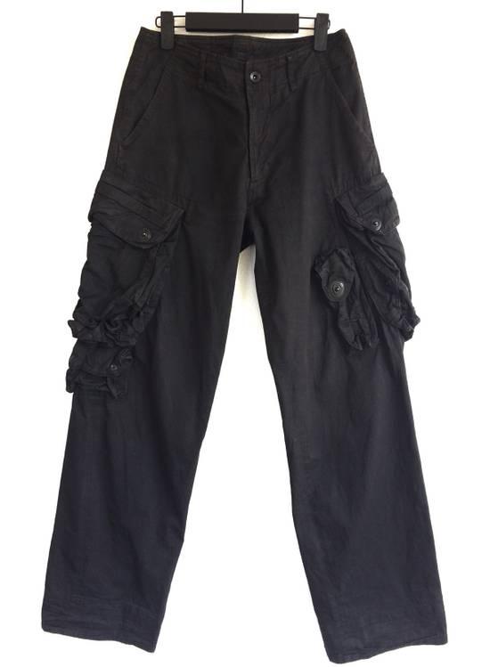 Julius Julius 09/SS Canon_1 The Possessed Gasmask Cargo Pants Size US 30 / EU 46