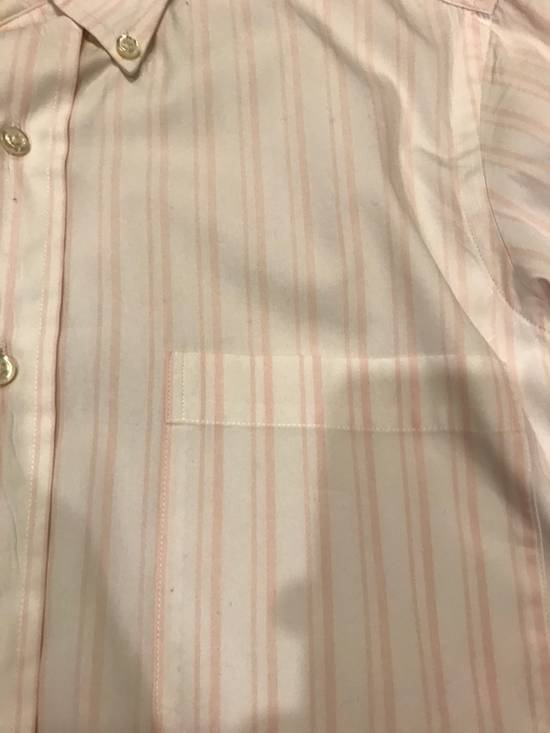 Thom Browne Pink Striped Dress Shirt Size US S / EU 44-46 / 1 - 2