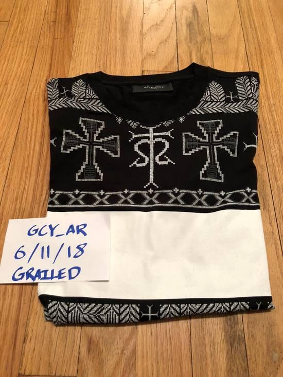 Givenchy Givenchy T Shirt Black White Cross Print Size US M / EU 48-50 / 2 - 6