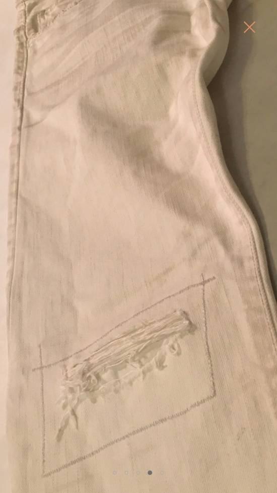 Balmain White Denim Size US 30 / EU 46 - 3