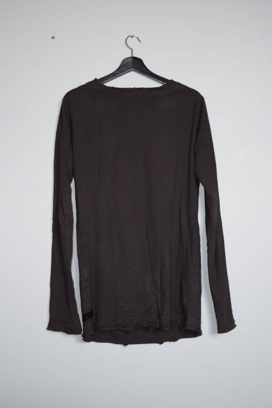 Julius [Last Drop] Destroyed Wide Neck Longsleeve Size US M / EU 48-50 / 2 - 1