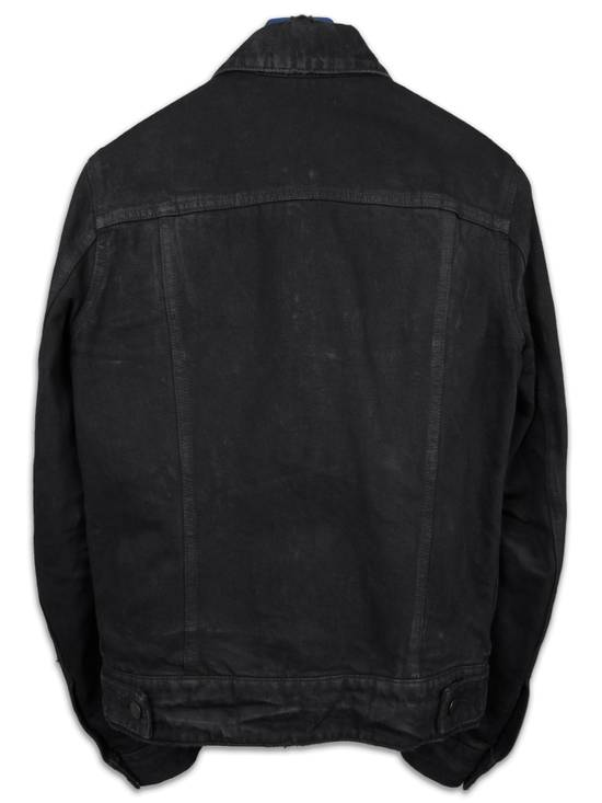 Balmain SS13 Black Wax Coated Denim Jacket sz. XS Size US XS / EU 42 / 0 - 5