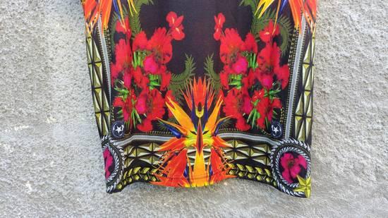 Givenchy $780 Givenchy Birds of Paradise Iris Floral Rottweiler Oversized T-shirt size XS Size US M / EU 48-50 / 2 - 6