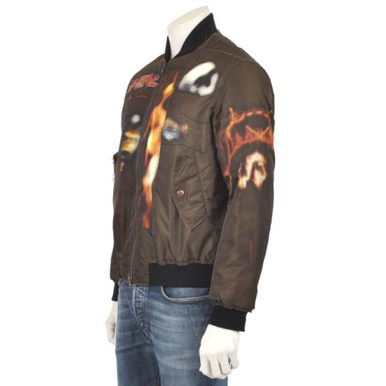 Givenchy Brown Padded Bomber Jacket Size US M / EU 48-50 / 2 - 3
