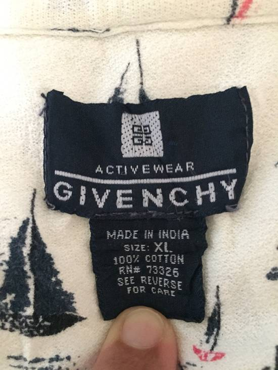 Givenchy GIVENCHY SAILBOAT PRINT POLO SHIRT Size US XL / EU 56 / 4 - 3