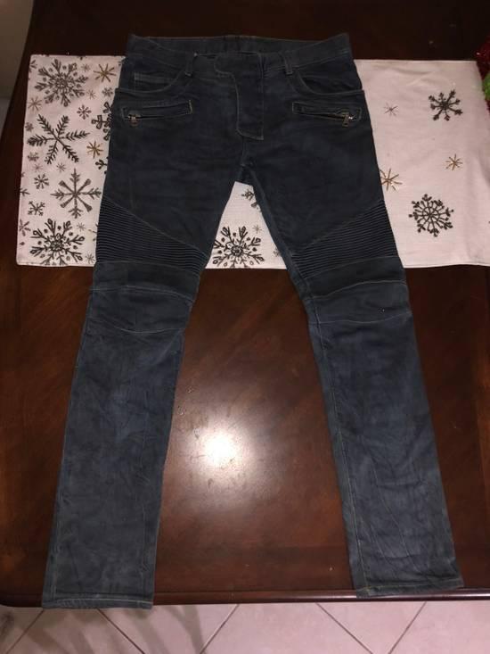 Balmain Biker Jeans Size US 31 - 1