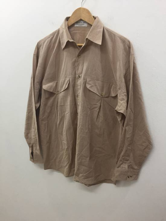 Givenchy 80's GIVENCHY button up double pocket 52% seta 42% cotton luxury made in italy Size US M / EU 48-50 / 2 - 1