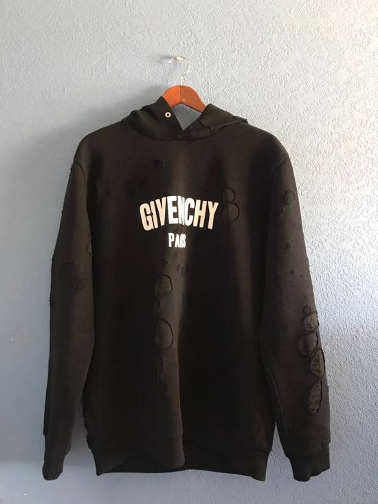 Givenchy Black Givenchy Logo Hoodie Size US XL / EU 56 / 4