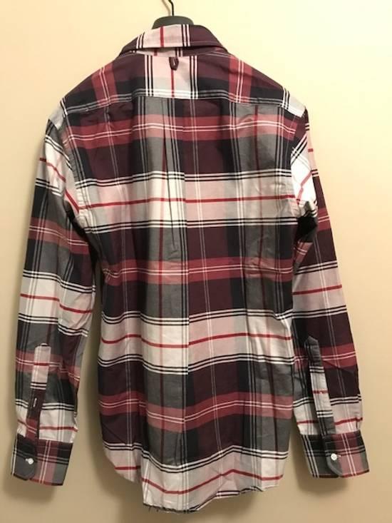 Thom Browne Tartan Oxford Button-Down Shirt Size US M / EU 48-50 / 2 - 1