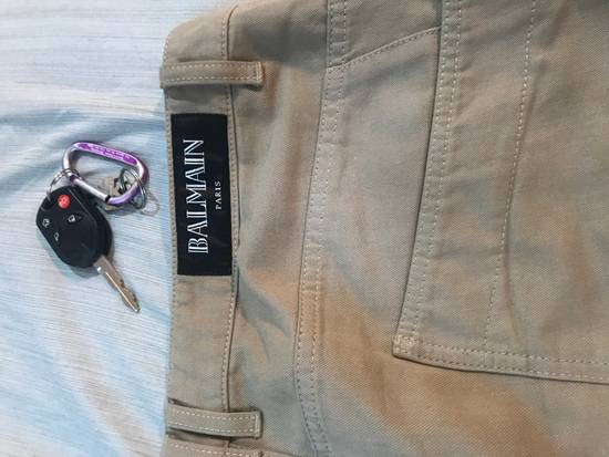 Balmain Tan Carpenter Jeans ( Priced To Sell) Size US 34 / EU 50 - 2
