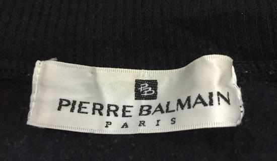 Balmain Pierre Balmain Paris Sweatshirt Embroidery Logo Size M Size US M / EU 48-50 / 2 - 3