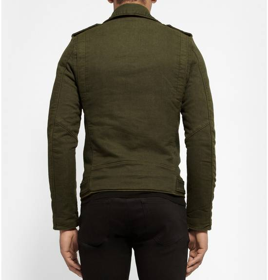 Balmain Balmain Green Cotton Twill Size US S / EU 44-46 / 1 - 1