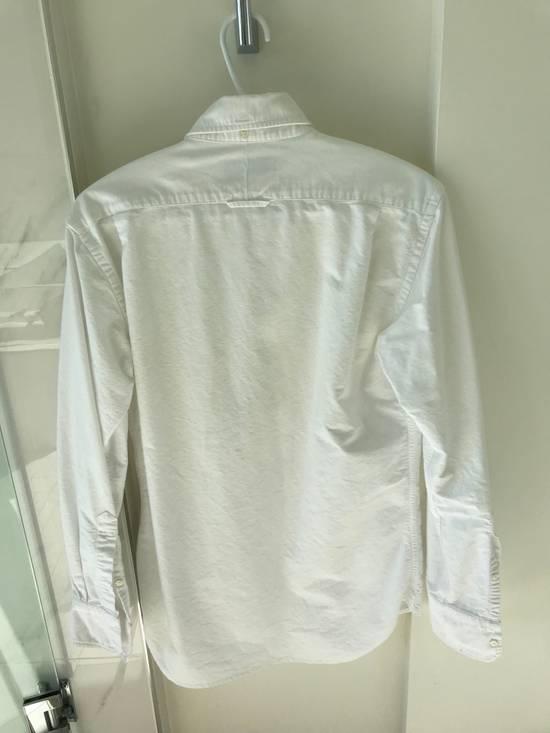 Thom Browne White Poplin Button-Down Size US M / EU 48-50 / 2 - 3