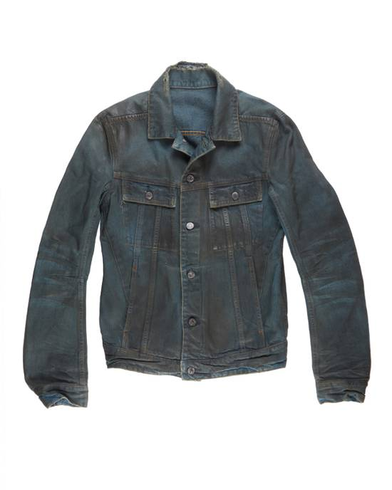 Balmain Coated Denim Jacket Size US S / EU 44-46 / 1