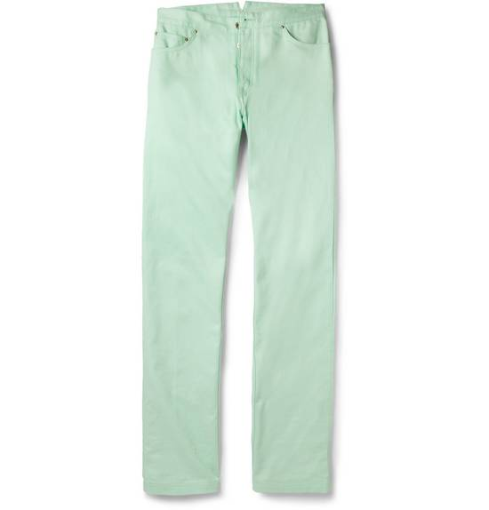 Thom Browne Mint Green Jeans Size US 31