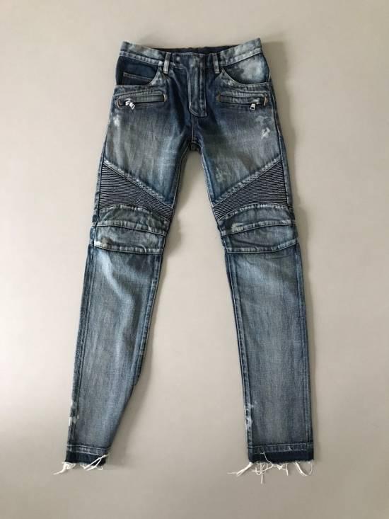 Balmain Balmain Biker Jeans/Size 30 Size US 30 / EU 46