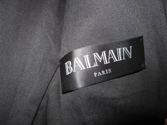 Balmain Waxed denim perfecto biker jacket Size US M / EU 48-50 / 2 - 5