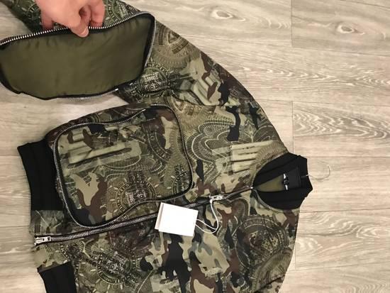 Givenchy 44-46-48-52 Padded Camo Bomber Jacket Size US M / EU 48-50 / 2 - 3