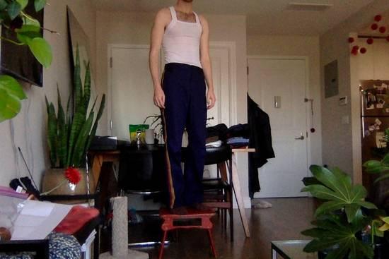 Comme des Garcons Comme des Garcons x GDS Bandstripe Pants Size US 28 / EU 44 - 4