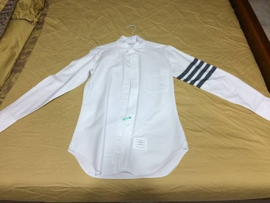 Thom Browne thom brown classic 4 stripes white shirts Size US XS / EU 42 / 0 - 1