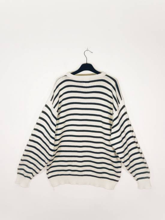 Vintage Country Road Striped Knit Sweatshirt Made in Usa