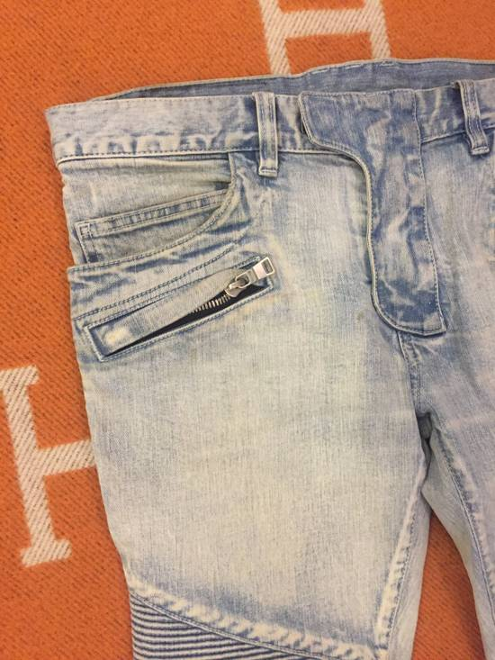 Balmain Classic knee ripped Biker Jeans Size US 31 - 3