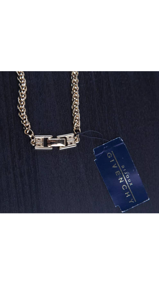 Givenchy 1994 Givenchy Gold necklace Size ONE SIZE - 4