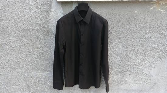 Givenchy $520 Givenchy Black Star Embroidered Rottweiler Shark Men's Shirt size 41 (L) Size US L / EU 52-54 / 3 - 1
