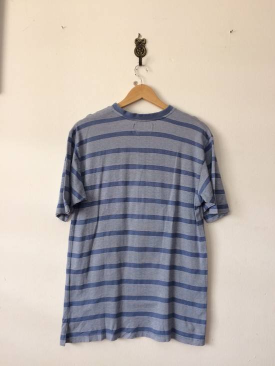 Balmain RARE PIRRE BALMAIN V-NECK SHIRT SINGLE POCKET STRIPED DESIGNER FASHION SIZR MEDIUM Size US M / EU 48-50 / 2 - 1