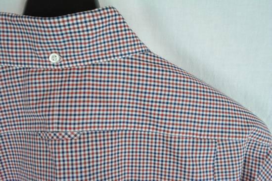 Thom Browne RED BLUE PLAID SHIRT NEW 4 Size US XL / EU 56 / 4 - 4