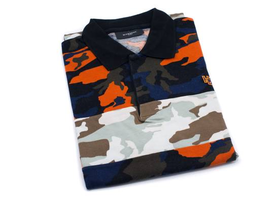 Givenchy Givenchy Men's Two Tone Multi Color Camouflage Polo Shirt Size US L / EU 52-54 / 3