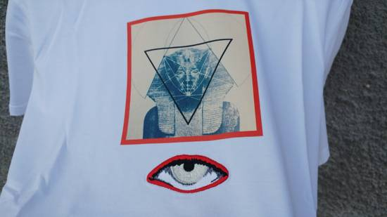 Givenchy $590 Givenchy Egyptian Eye Rottweiler Star Birds Cuban Fit T-Shirt size XL (M) Size US M / EU 48-50 / 2 - 7