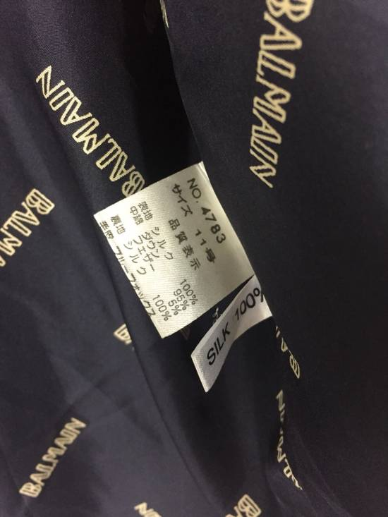 Balmain Final Drop! Balmain Paris Black Parka Jacket Size US L / EU 52-54 / 3 - 6