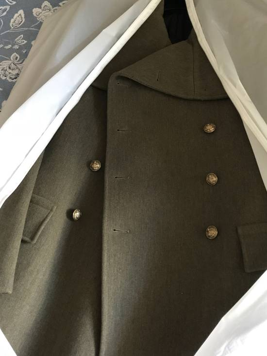 Balmain 11 FW Military high neck coat Size US M / EU 48-50 / 2 - 8