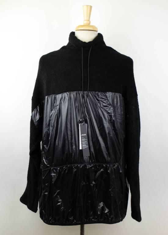 Julius 7 Black Wool Blend W/ Drawstring Pullover Sweater Size 3/M Size US M / EU 48-50 / 2