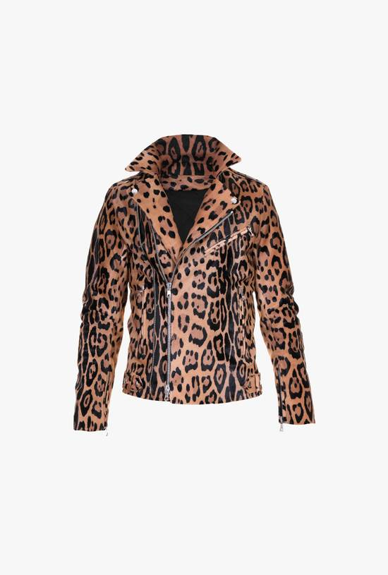 Balmain Balmain leater biker leopard jacket BNWT size 46 Size US S / EU 44-46 / 1 - 1