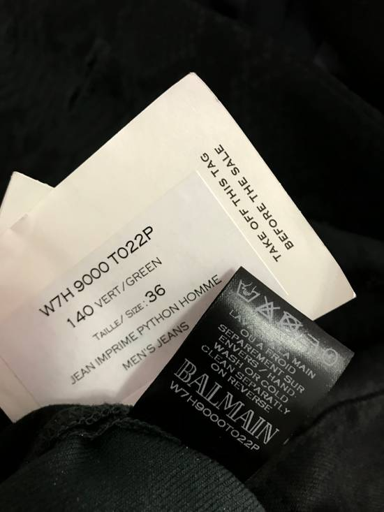 Balmain Size 36 - Distressed Snake Print Rockstar Jeans - FW17 - RARE Size US 36 / EU 52 - 6