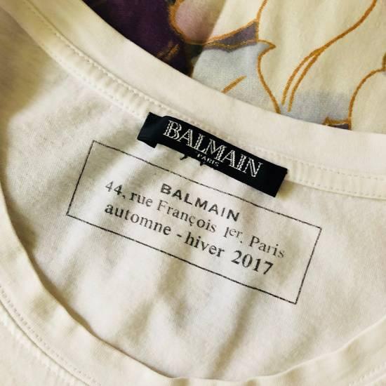 Balmain BALMAIN PARIS Vintage Logo T Shirt COMME DES VUITTON YSL Size US S / EU 44-46 / 1 - 4