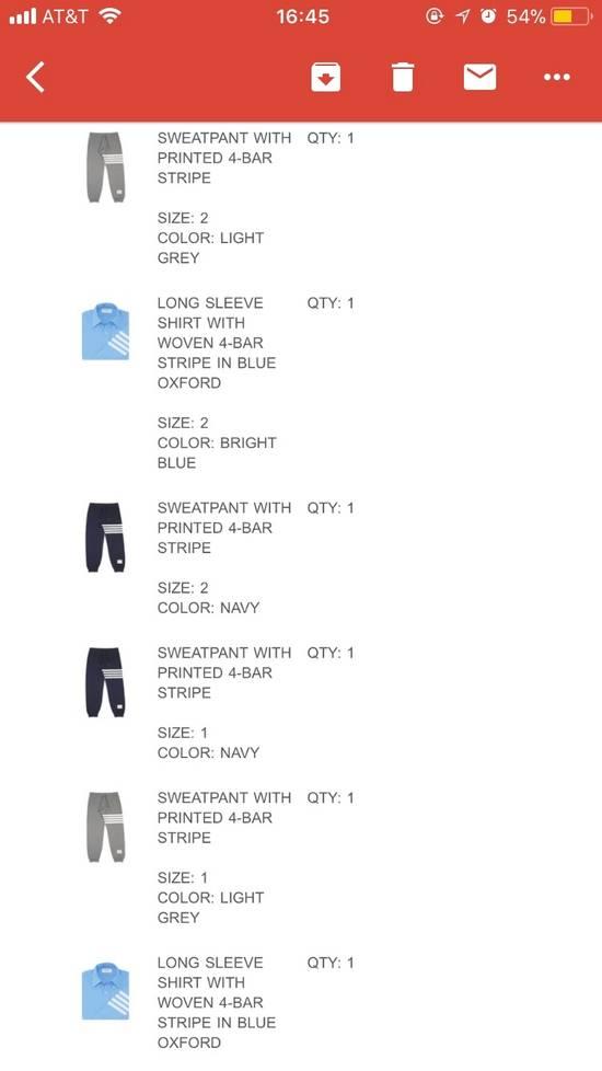 Thom Browne 4-Bar Print Sweatpants Size US 30 / EU 46 - 4
