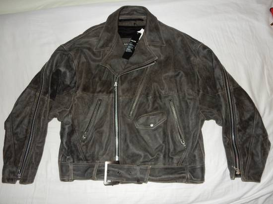 Julius Julius _ 7 oversized Biker Leather Jacket Size US L / EU 52-54 / 3 - 5