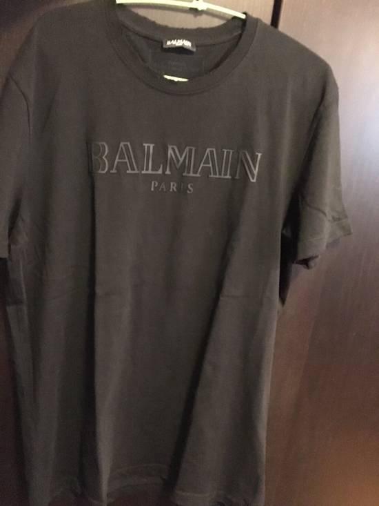 Balmain Distressed Balmain Logo Tshirt Size US L / EU 52-54 / 3