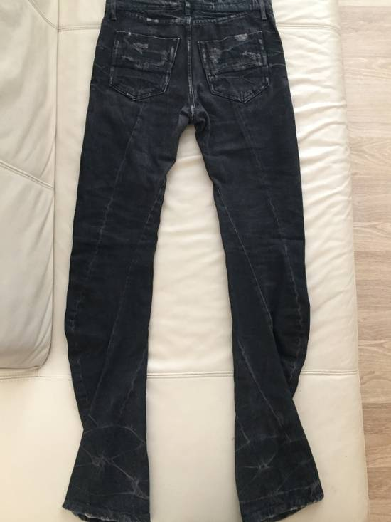 Julius 2009 LSE Limited Curved/Twisted Distressed Denim Size US 30 / EU 46 - 1