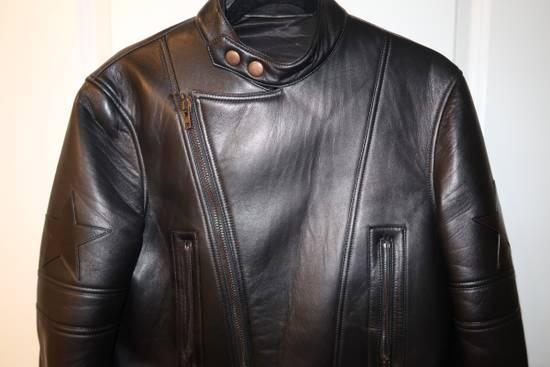 Givenchy Lamb leather moto star print jacket Size US M / EU 48-50 / 2