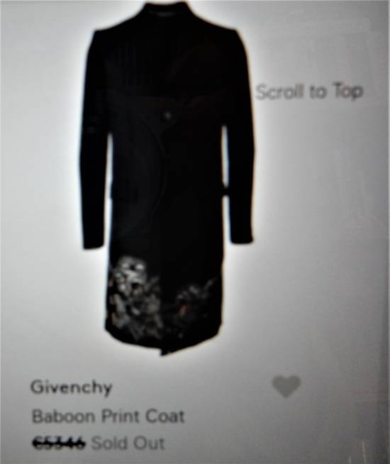Givenchy GIVENCHY MONKEY COAT Size US M / EU 48-50 / 2 - 8