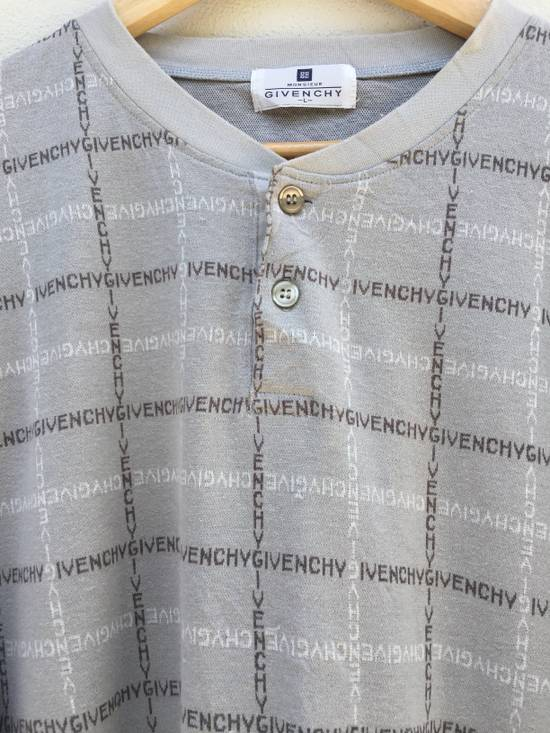 Givenchy Final Drop Givenchy Spellout Logo Printed Long Sleeve Tshirt Size US L / EU 52-54 / 3 - 14